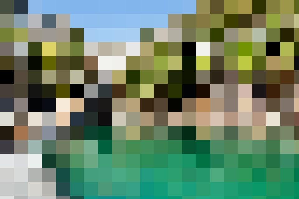 Das smaragdgrüne Wasser der Verzasca lockt zum Baden