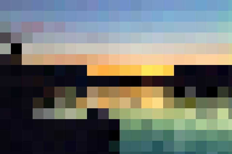 À ne pas manquer, le coucher du soleil au bord du Rhin.