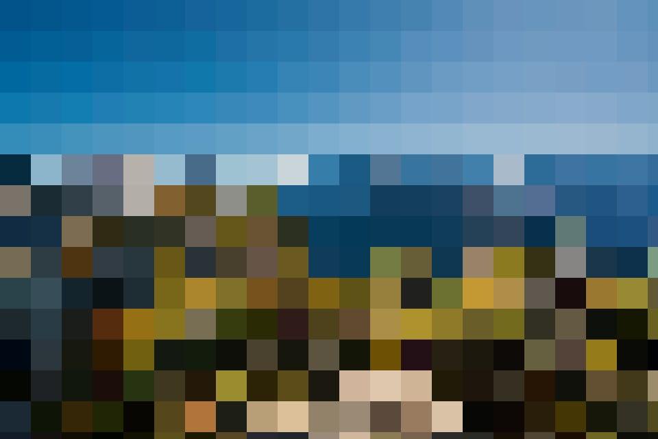 Herbstgenuss mit Blick auf die Gipfel des Berner Oberlandes.