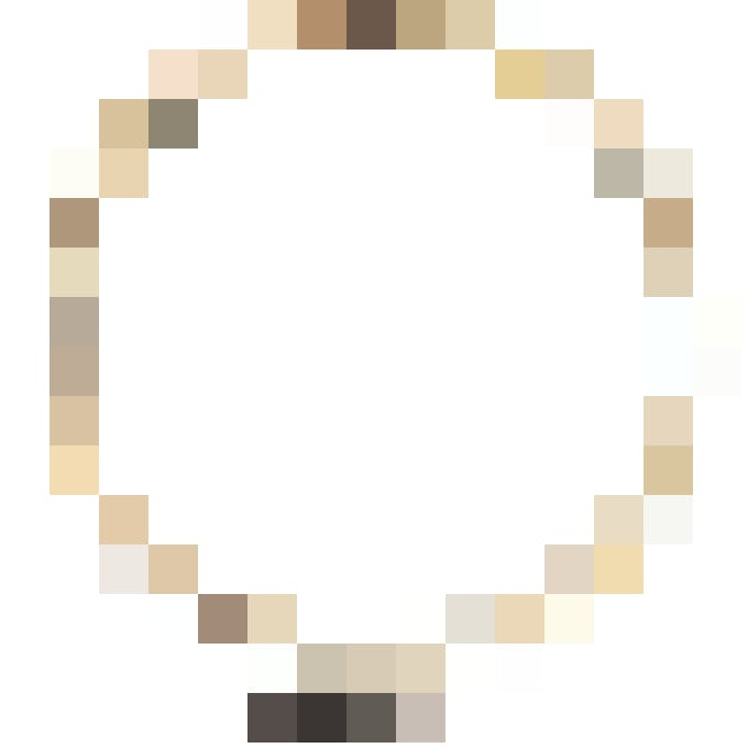 MatérIel de base: Tambour à broder  de Creativ Company  (Ø 10cm),  4 fr. 95, microspot.ch