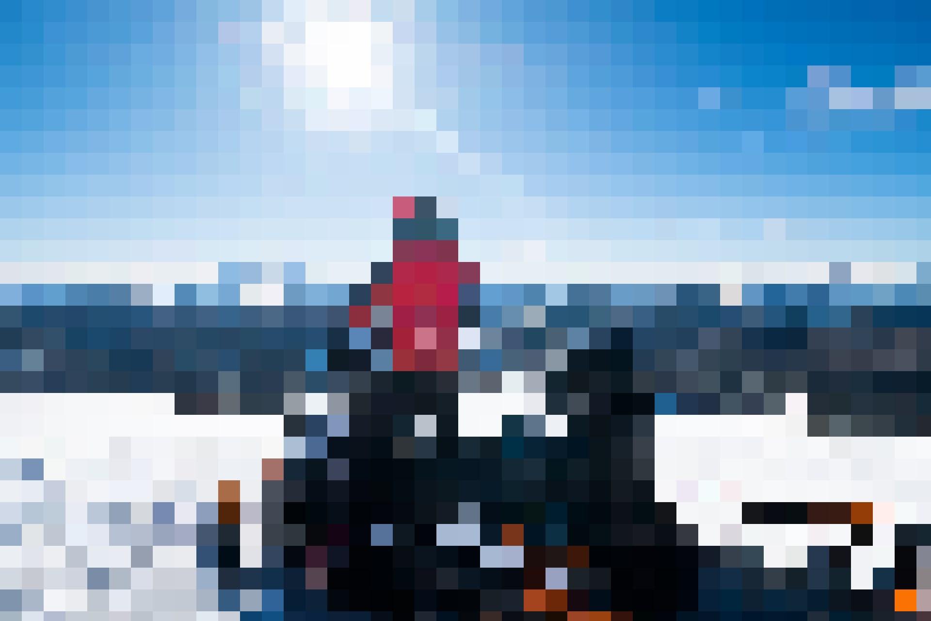 An den Kosten für Rettungen, Suchaktionen und Bergungen im Ausland beteiligt sich die Grundversicherung nicht: Rettungssanitäter in einem Skigebiet.