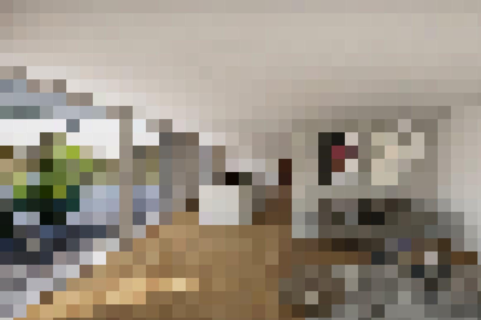 Das grosszügige Wohnzimmer und die offene Terrasse verleihen den Wohnungen einen Loft-artigen Charakter.