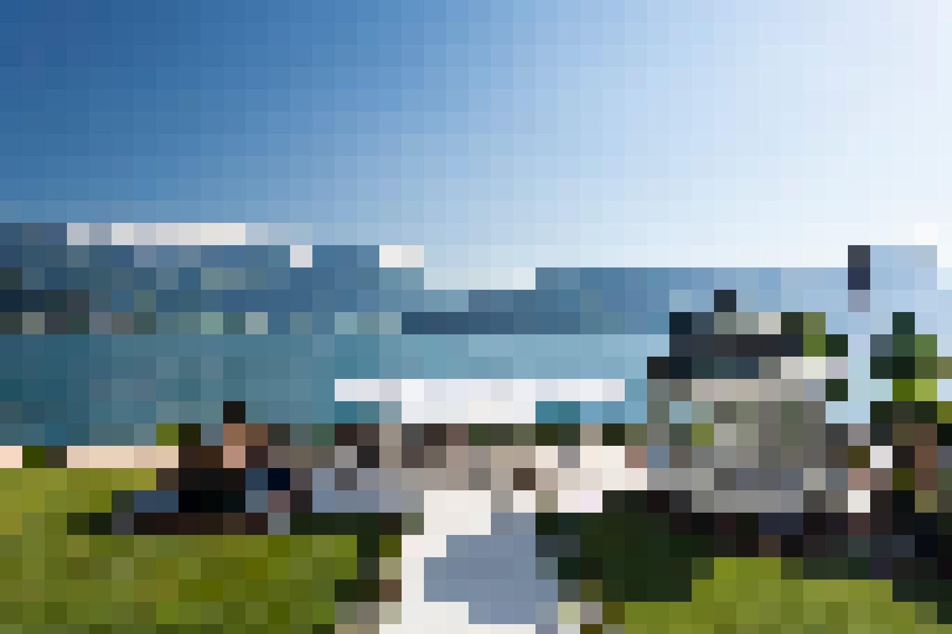 Auch die Seeterrasse des Parkhotel Vitznau lässt sich sehen