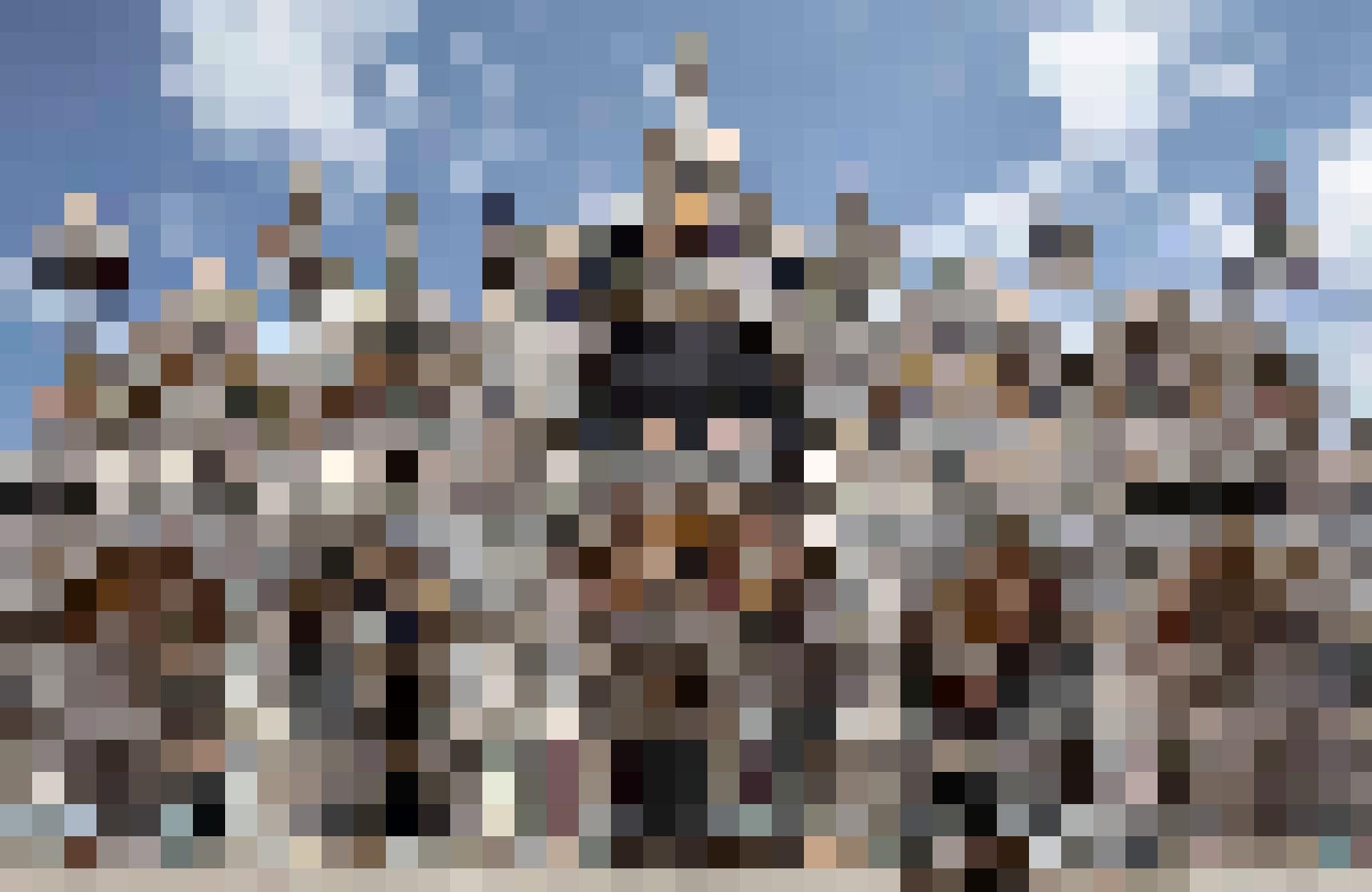 Eine von Venedigs beliebtesten Touristenattraktionen: Der Markusdom.