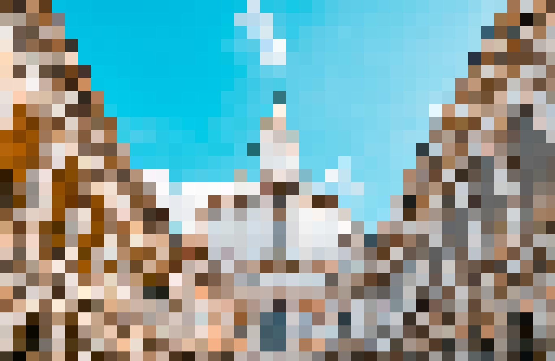 Hier gibt es für Besucher viel zu entdecken, etwa symbolische Motive: Kirche Sant Ivo alla Sapienza.