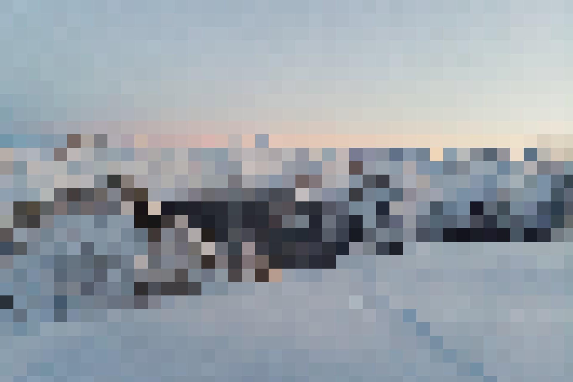 Auch bei Sonnenuntergang ein Bijoux: Alpenpanorama.