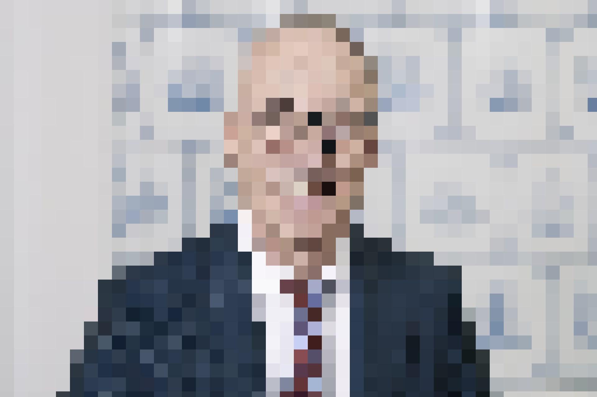 Kundennähe ist wichtig: Daniel Pfanner, seit 2003 Vorsitzender der Geschäftsleitung der Bank EEK