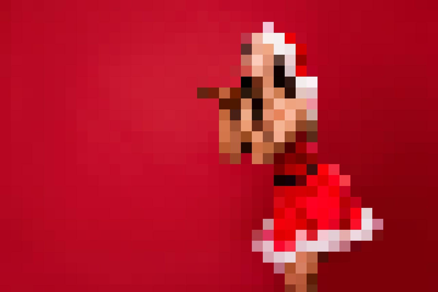 Sexy Weihnachten mit den Geschenkideen von Amorana: Frau in einem sexy Kostüm.