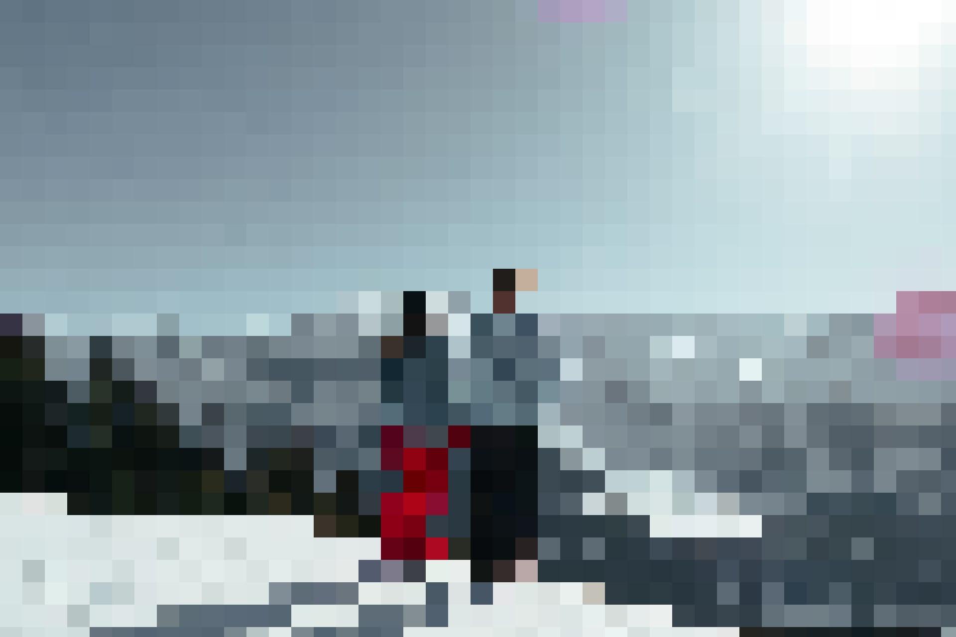 Winterwandern mit dem Titlis im Hintergrund