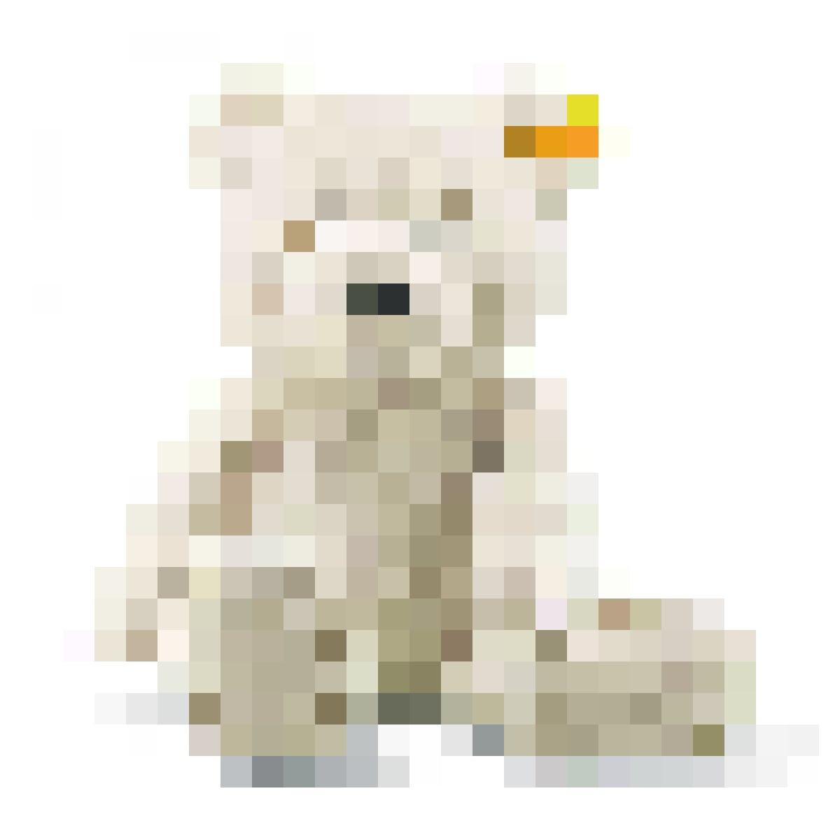Pour les câlins : nounours Steiff  (28 cm, beige), 34 fr. 95,