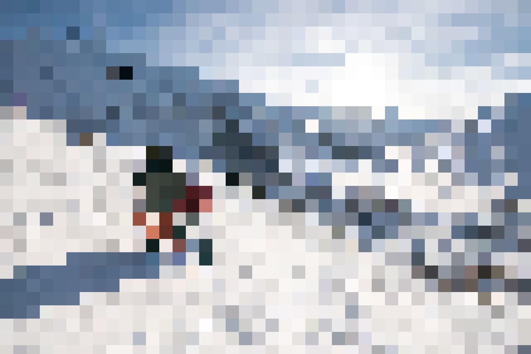 180 Kilometer Pisten beginnen nur einen Steinwurf vom Hotel entfernt: Sicht auf Andermatt.
