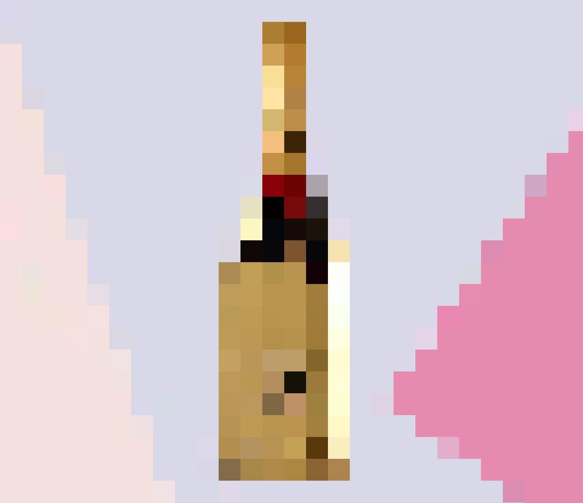 Brillons ensemble: la bouteille de ce Jéroboam de 3 litres aux reflets dorés s'accorde parfaitement avec ton look festif. Un champagne fait pour une occasion très spéciale!