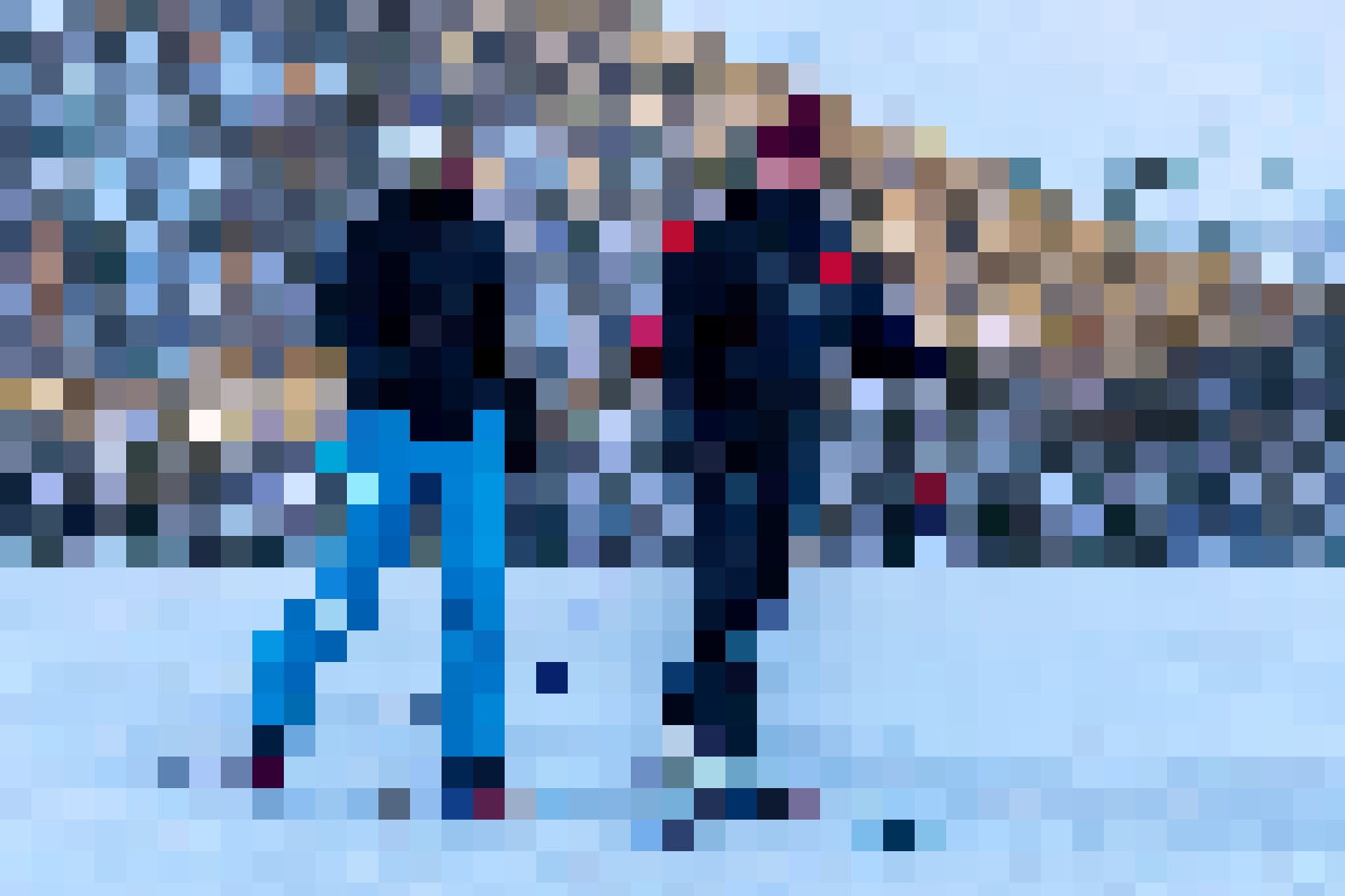 Auf dem Rückweg fangen Laura und Severin noch die letzten Sonnenstrahlen ein, die das Tal erhellen.