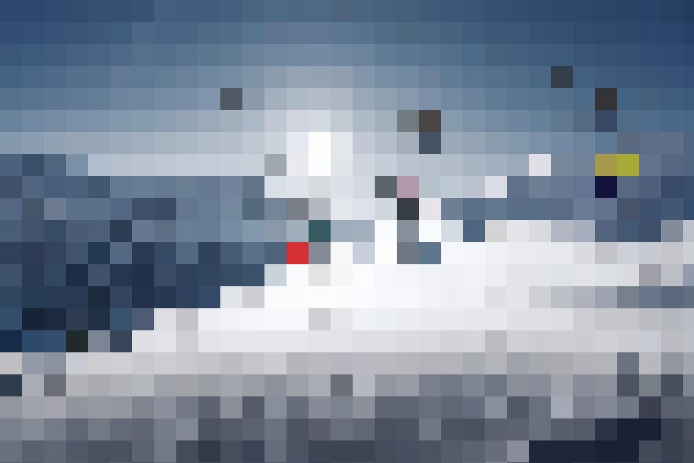 Mit bis zu 80 Kilometer pro Stunde zu Tale sausen: Die Seilrutsche in Grindelwald First.