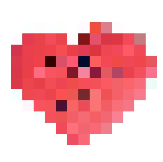 Love love: Coussin Sombo I love you (34cm, rouge), 9 fr. 95,