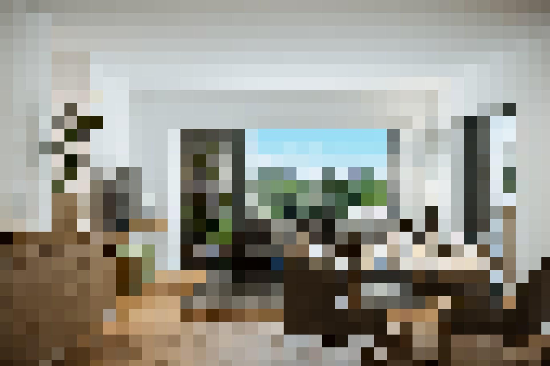 Un intérieur moderne et convivial.