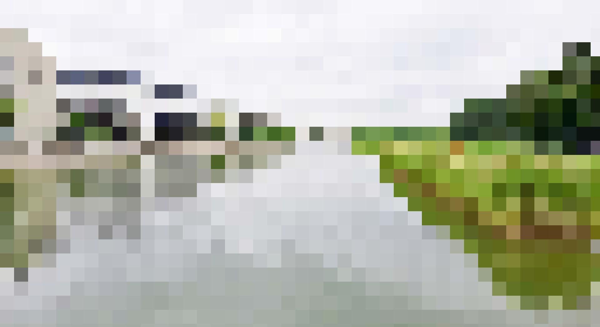 Offene Wasserflächen um den Glattpark in Opfikon.