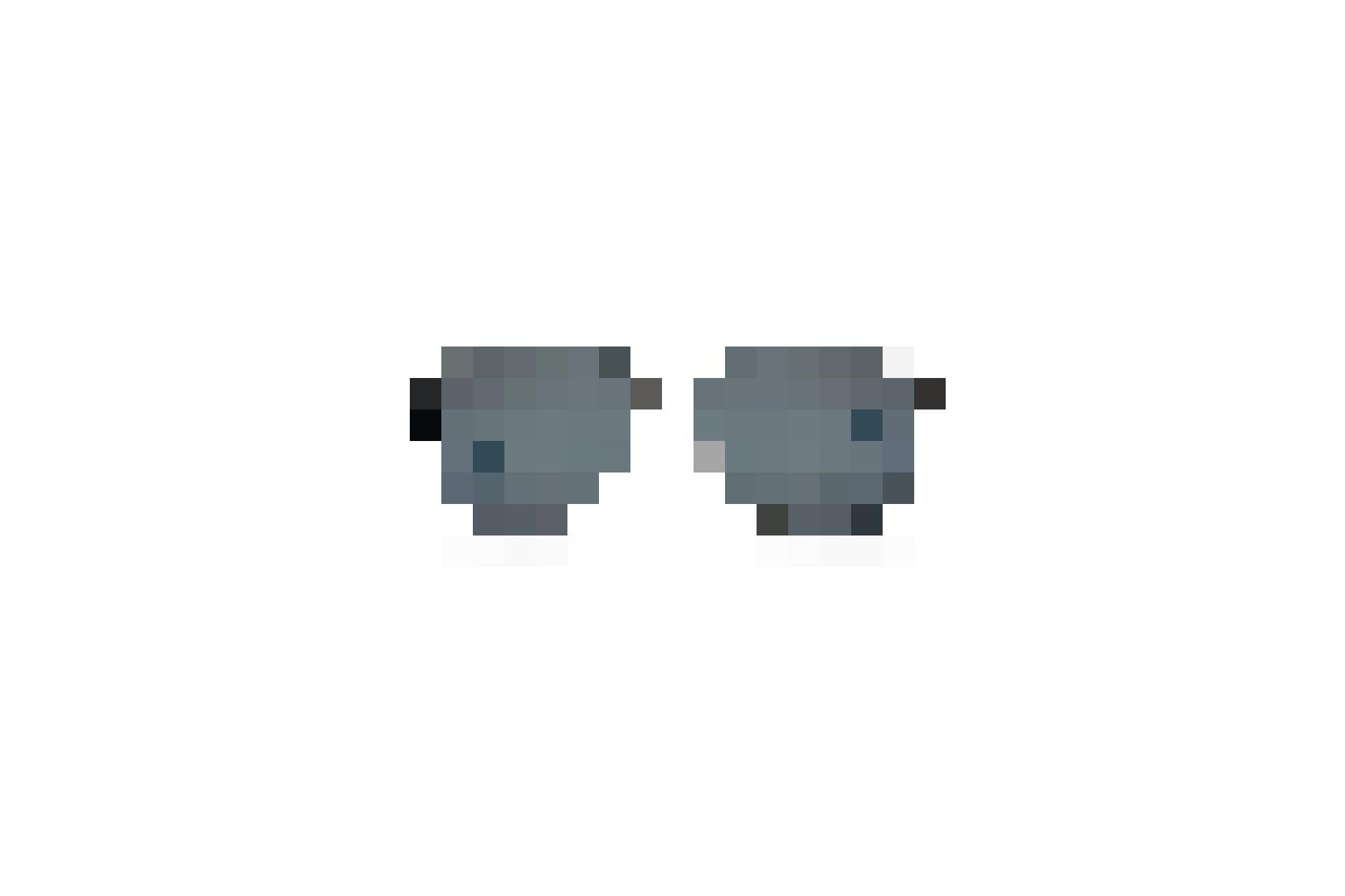 BD 456 SUN: Klassische Pilot-Fassung in Gun mit blauen Gläsern