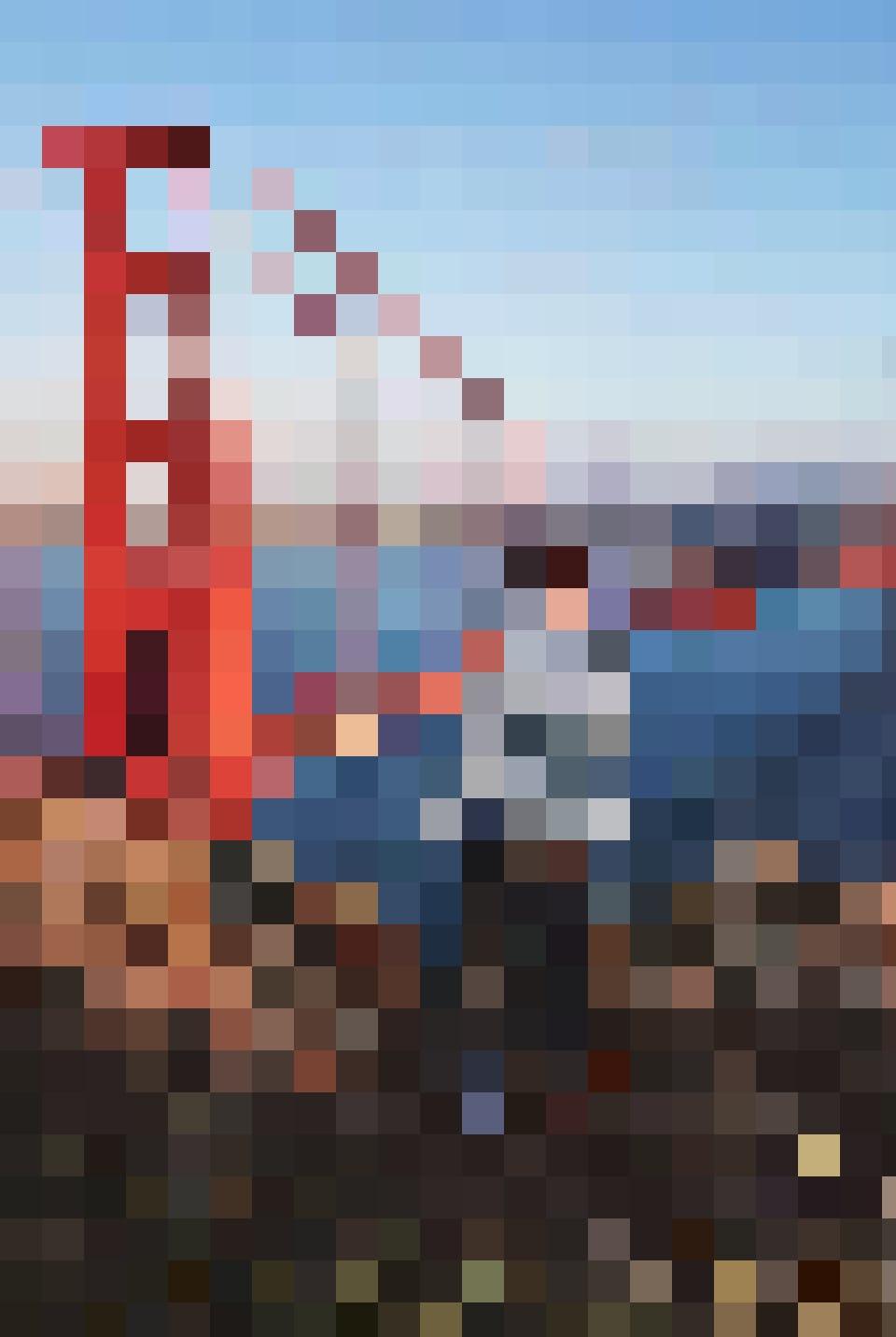 Das Jahres-Highlight von Baptiste Tachet: Die Golden Gate Bridge in ihrer ganzen Pracht.