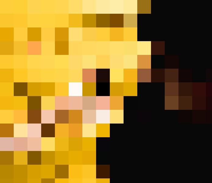 ... oder als Sonnenkönigin im gelben Bällebad.