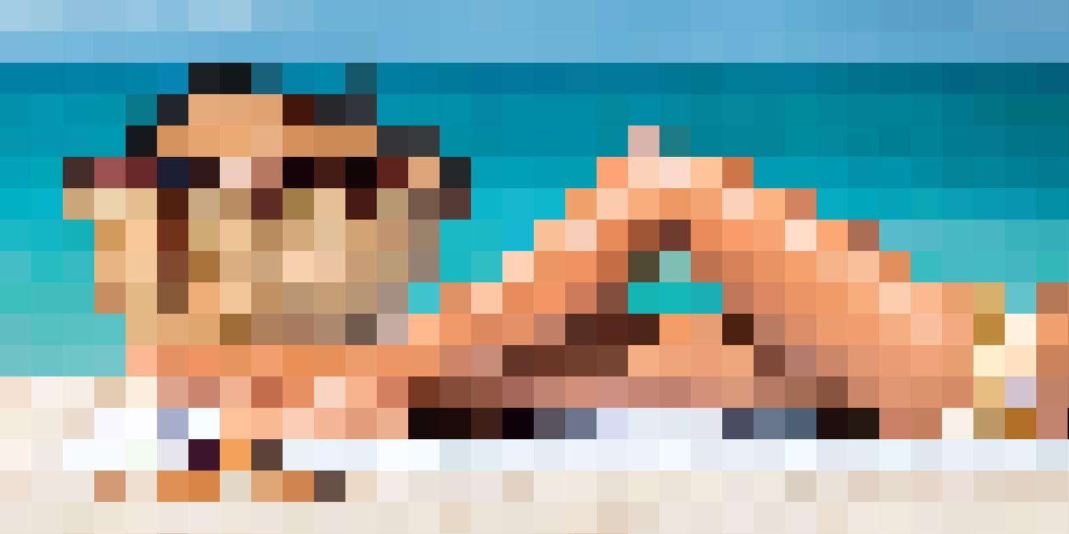 Für den Beach-Look: Dauerhafte Haarentfernung mit SHR-Lichtbehandlung oder Alexandrit Diodenlaser.