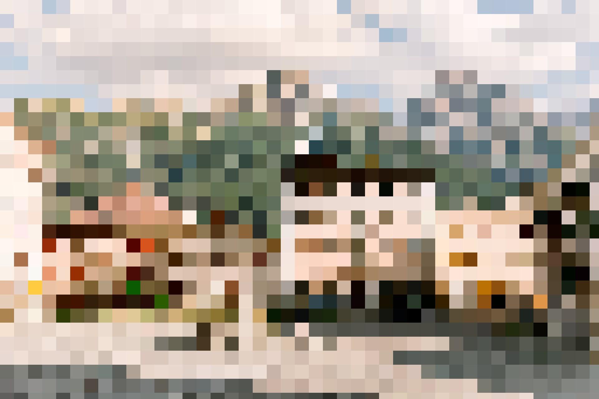 Der Dorfplatz von Sent.