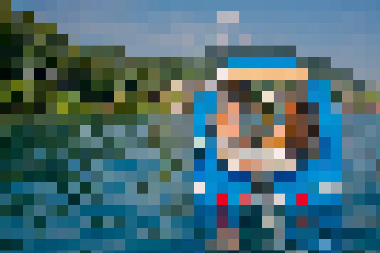 Der Sealander ist Wohnwagen und Elektroboot zugleich. Ein Fondue in ihm auf dem Thunersee ist unvergesslich.