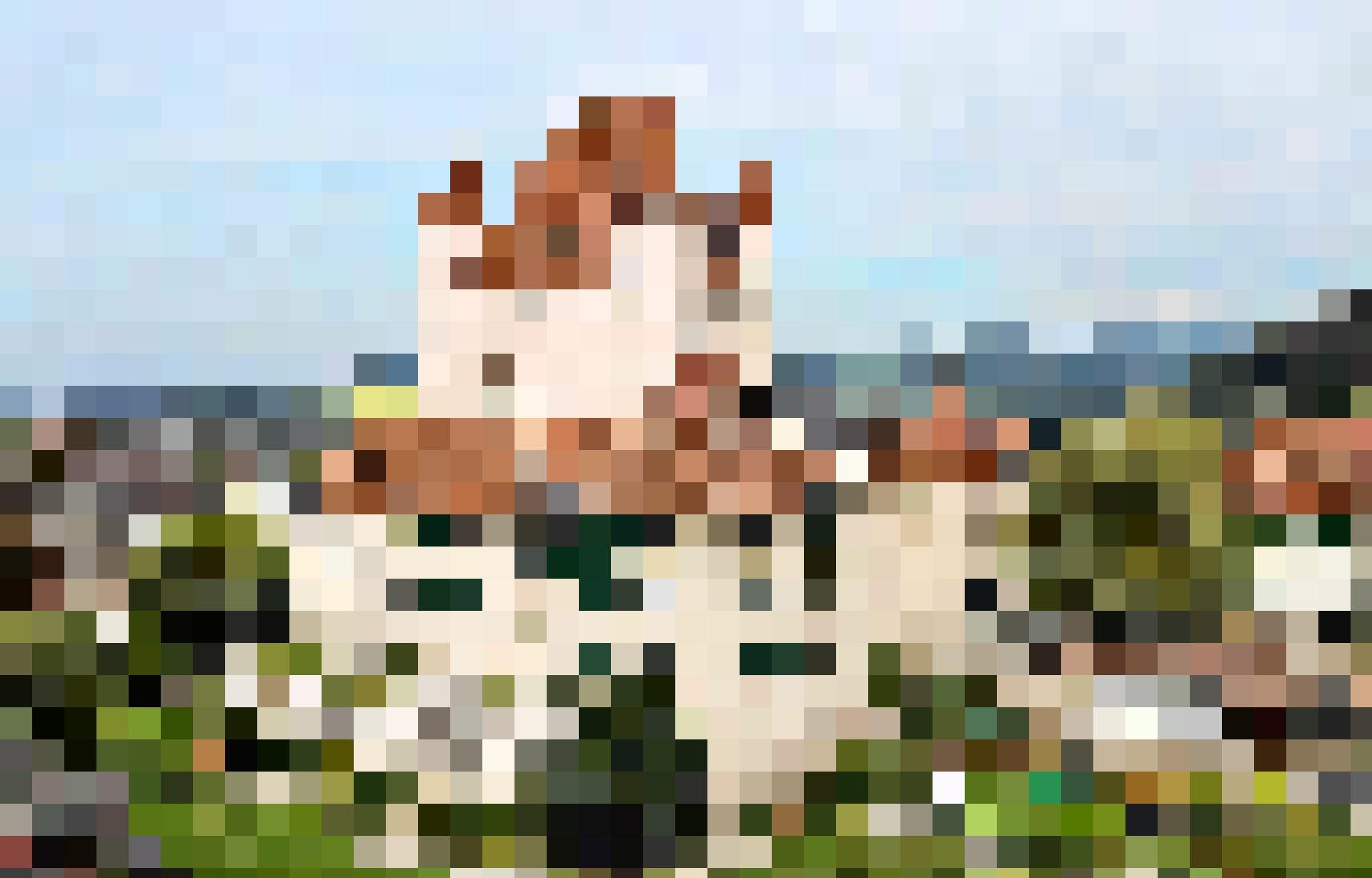 Das Schloss thront über der Altstadt von Thun.