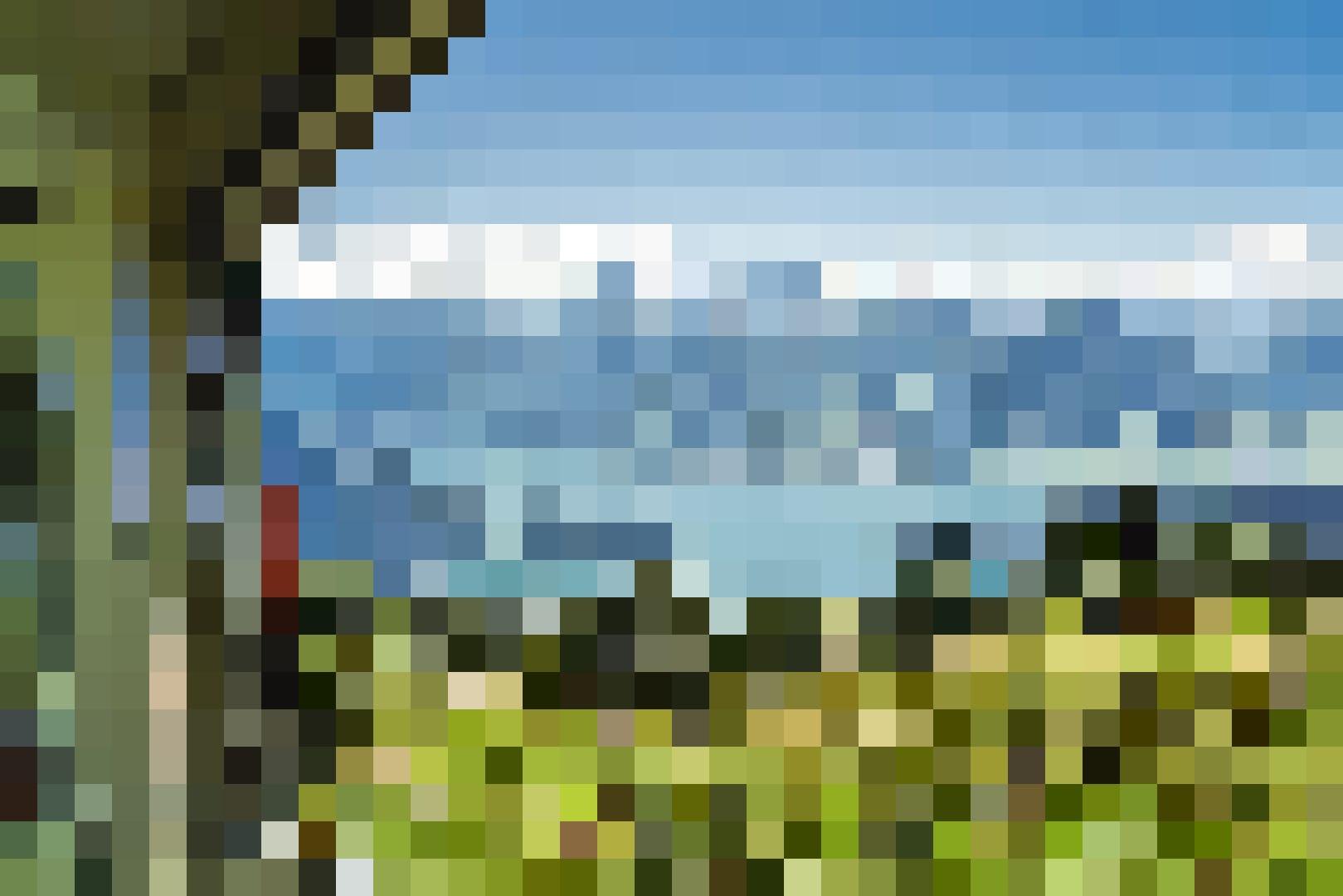 Bergfahrt Vitznau - Rigi Kulm - mit der Zahnradbahn - Aussicht auf Bergpanorama und Vierwaldstättersee