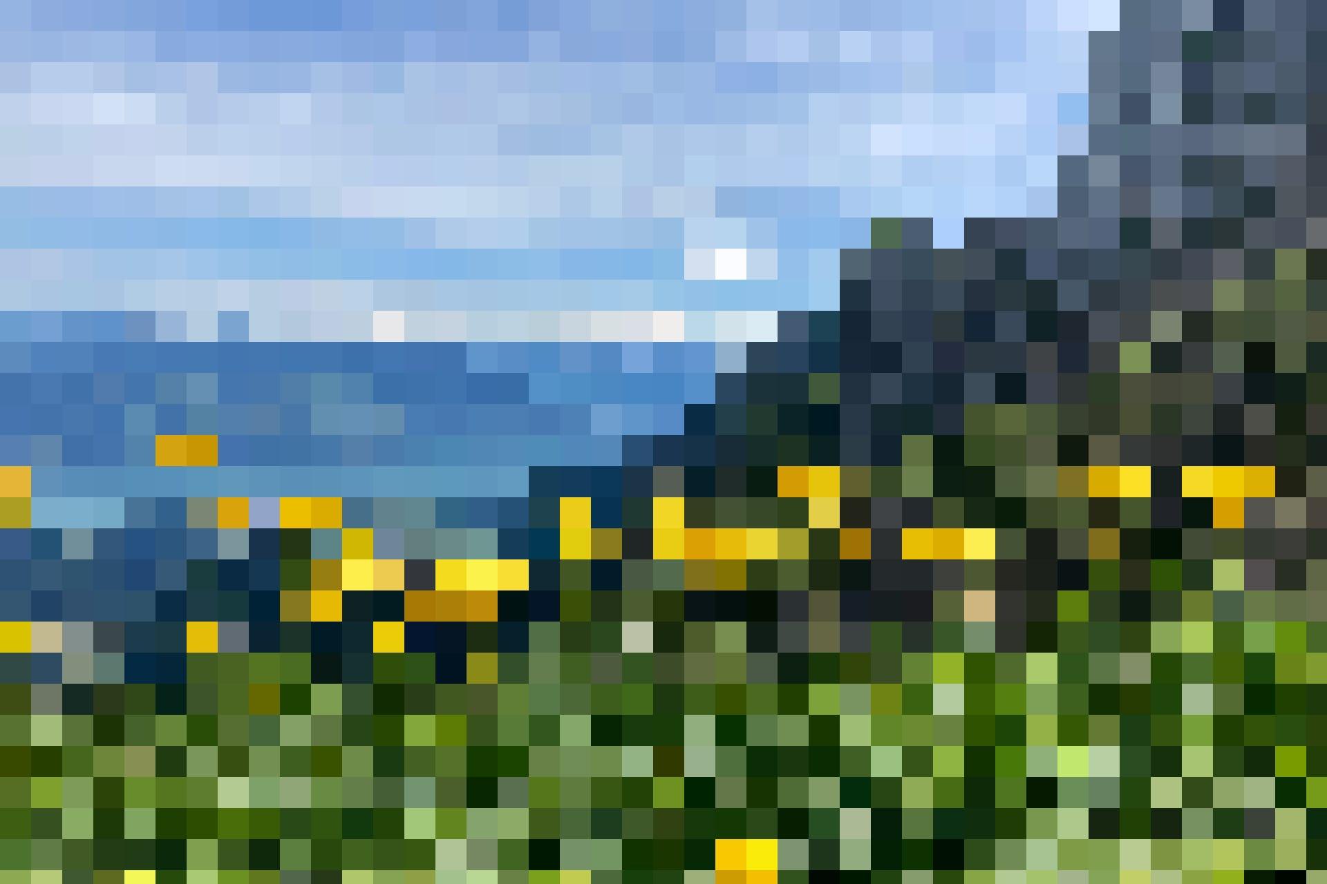 Blick zum Thunersee vor dem Aufstieg zum Strüssligrat