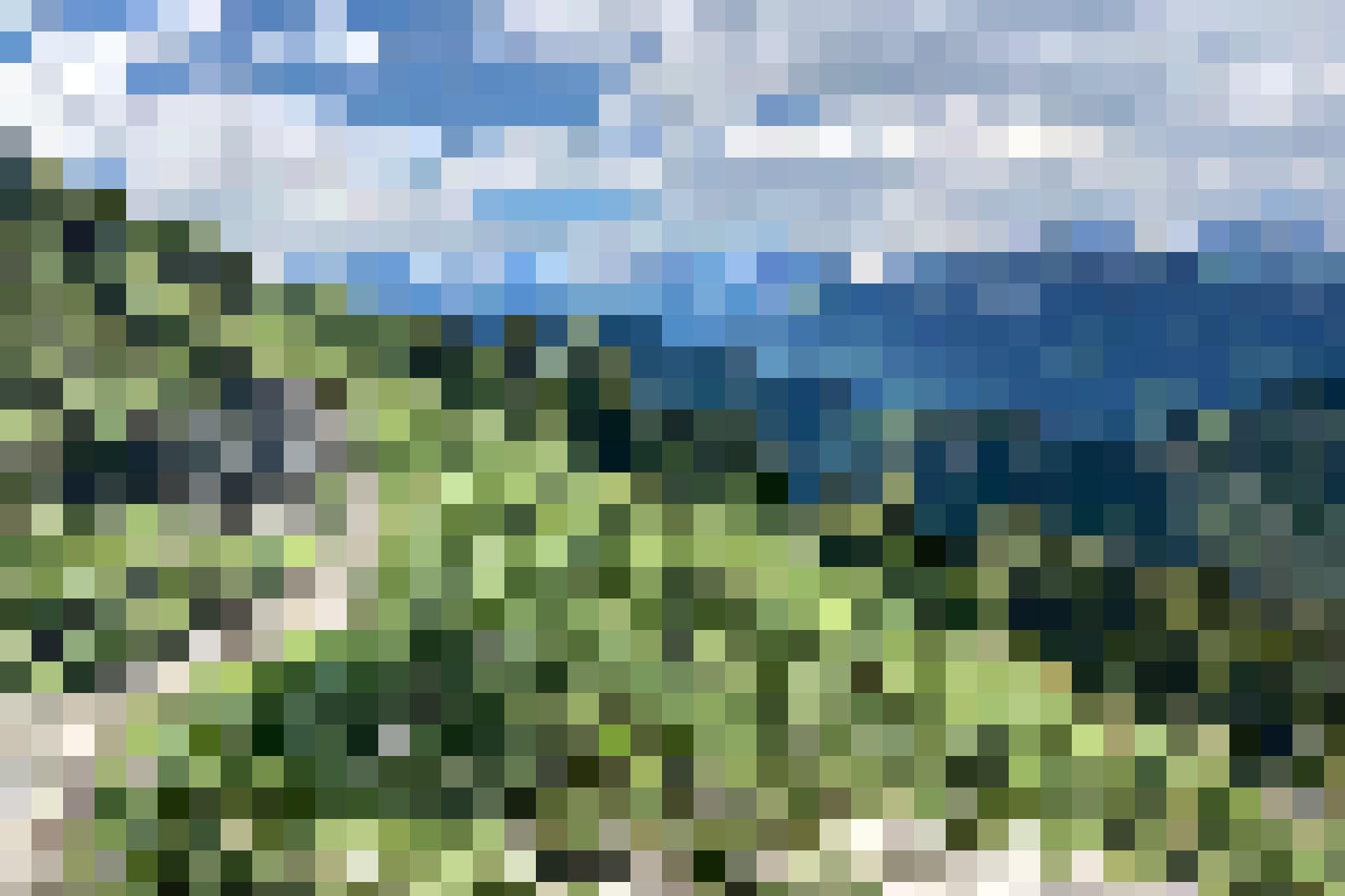 Auf dem Weg Schiterwang ist die Aussicht wunderschön.
