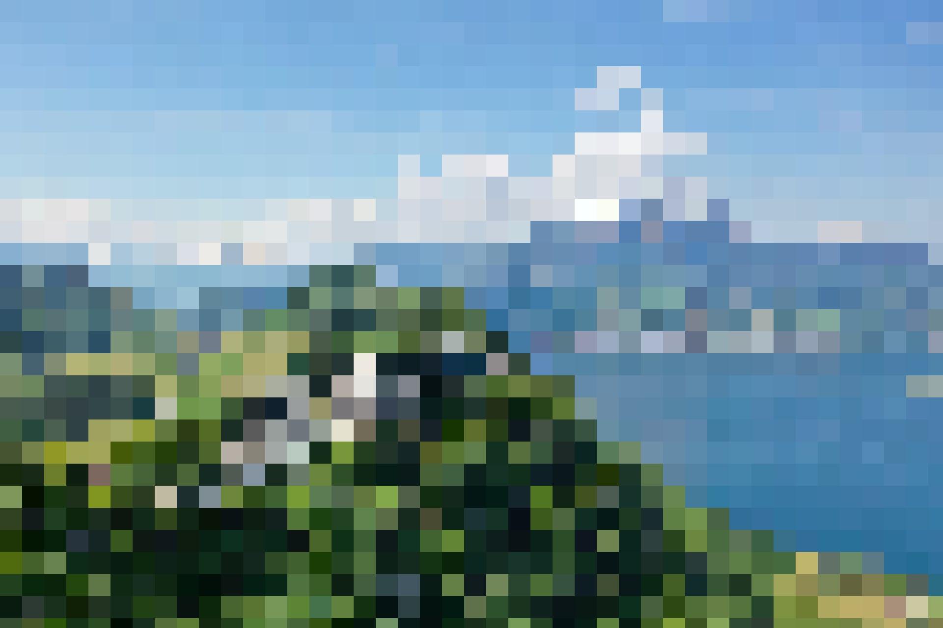 Die Location thront majestätisch 500 Meter über dem Vierwaldstättersee.