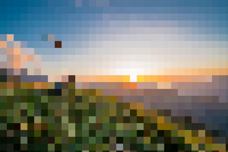 Aussichtskanzel – Der Bällehöchst ragt Richtung Lütschinentäler und Interlaken. Er bietet eine erstklassige Aussicht.