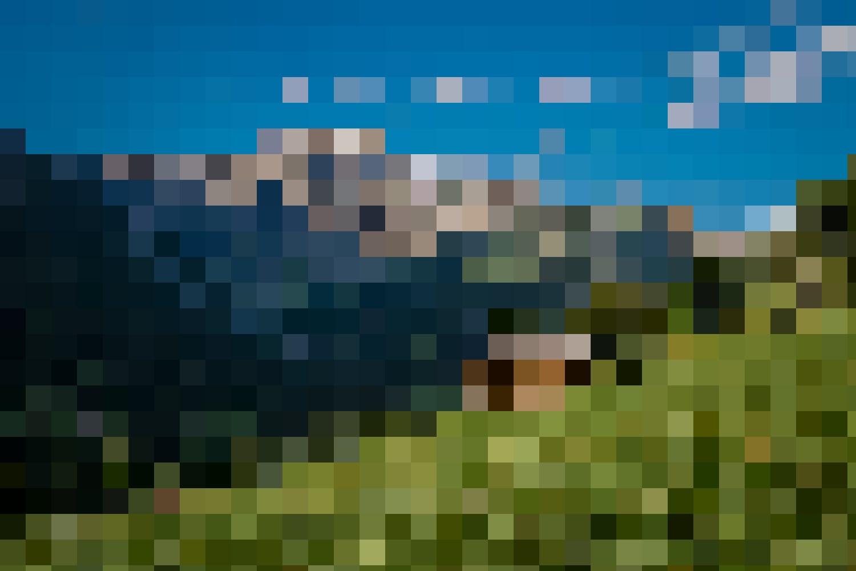 Imposant – Die Schwalmere und saftige Alpenwiesen prägen das Saxettal.