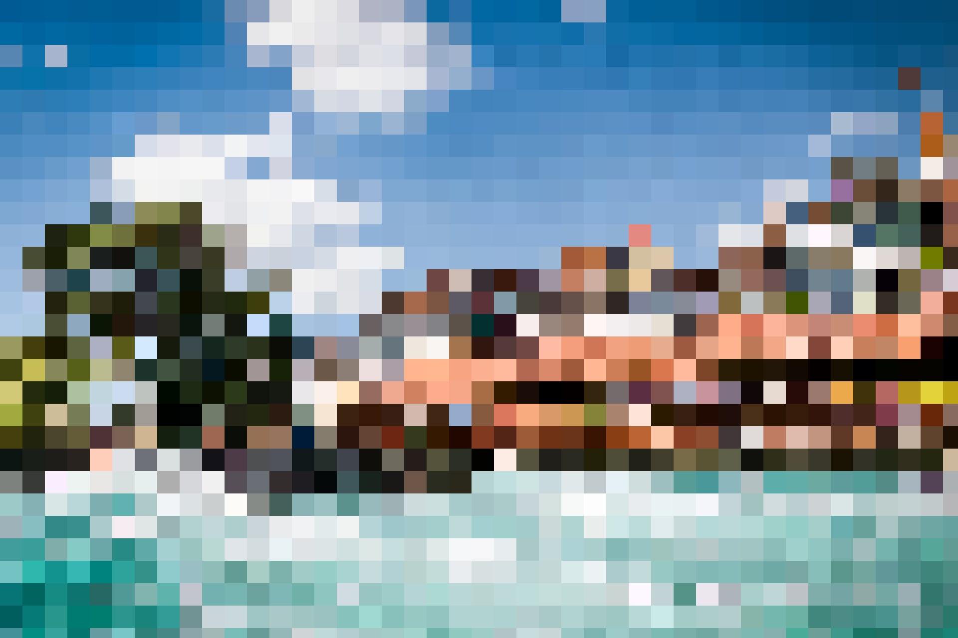 Die Schleusen und Holzbrücken von Thun laden auch zum Surfen ein.