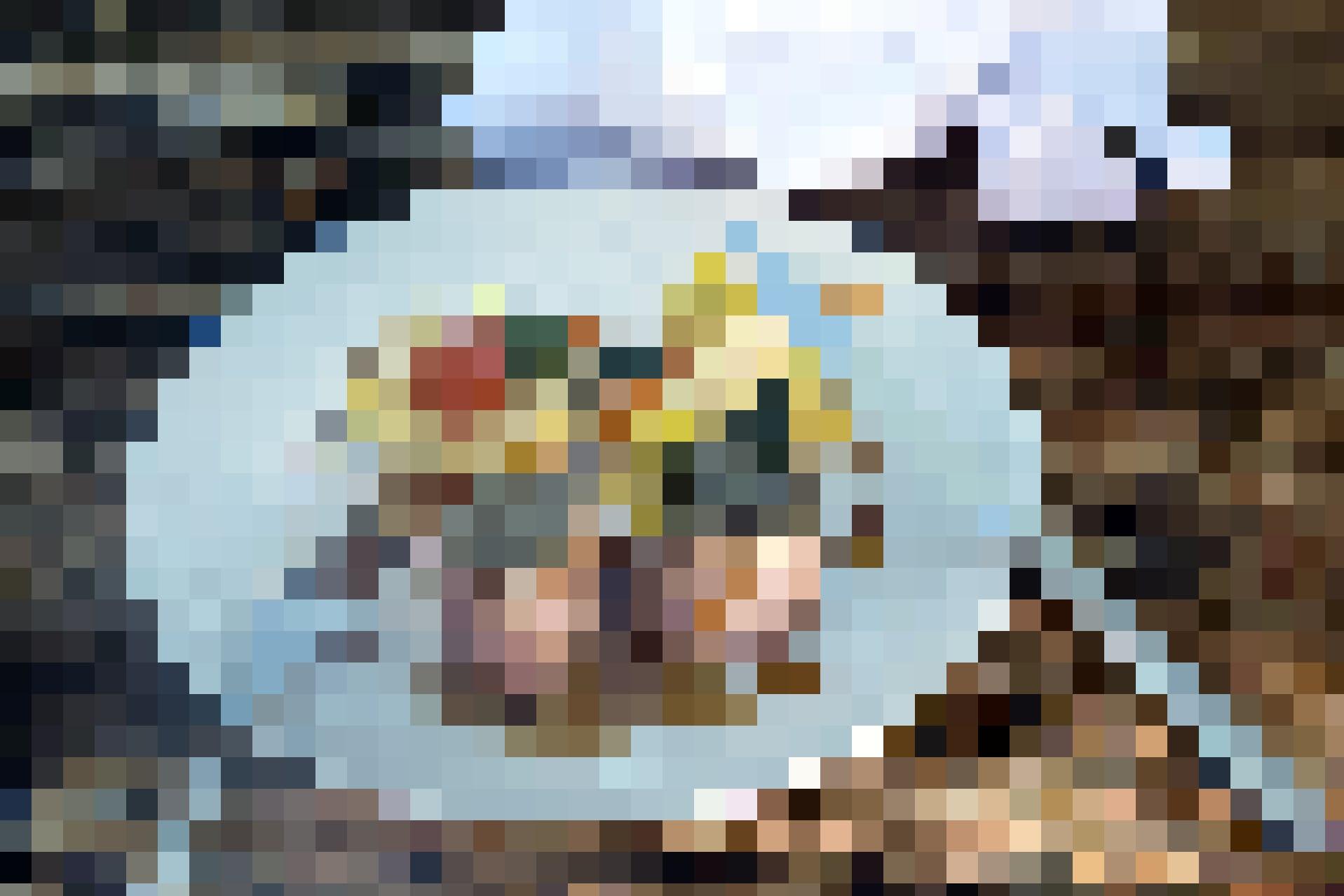 Schweinefilet mit Heukruste im Berggasthaus Niederbauen