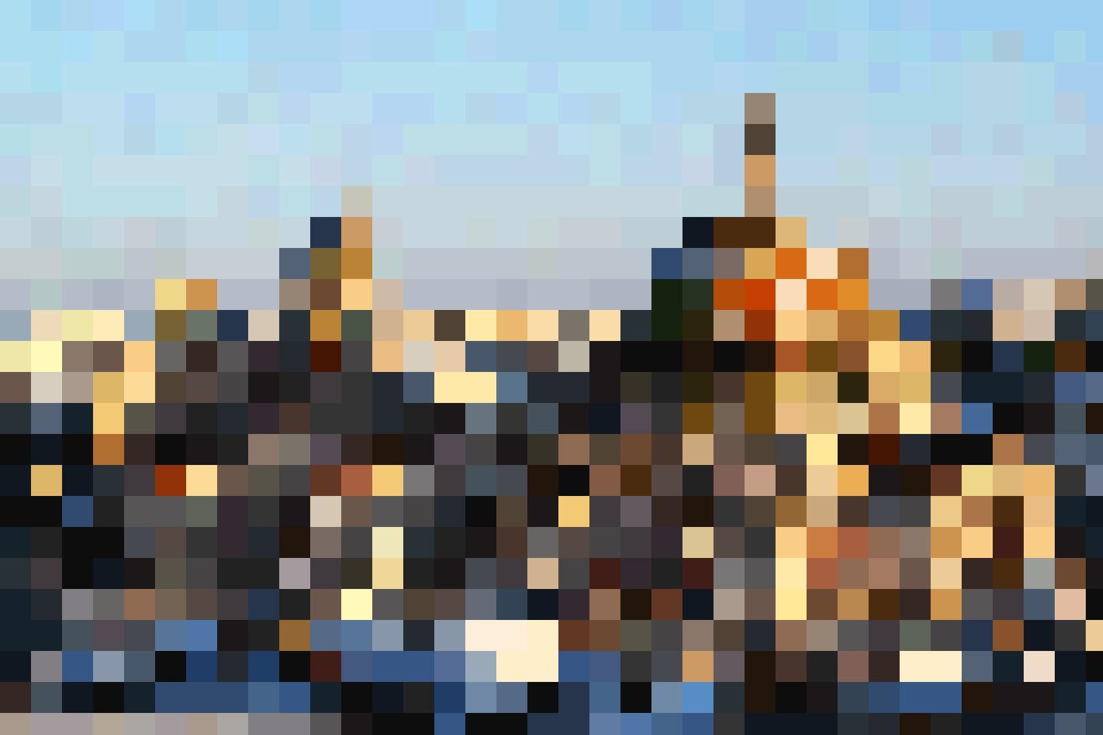 Die malerische Stadt Ostuni.