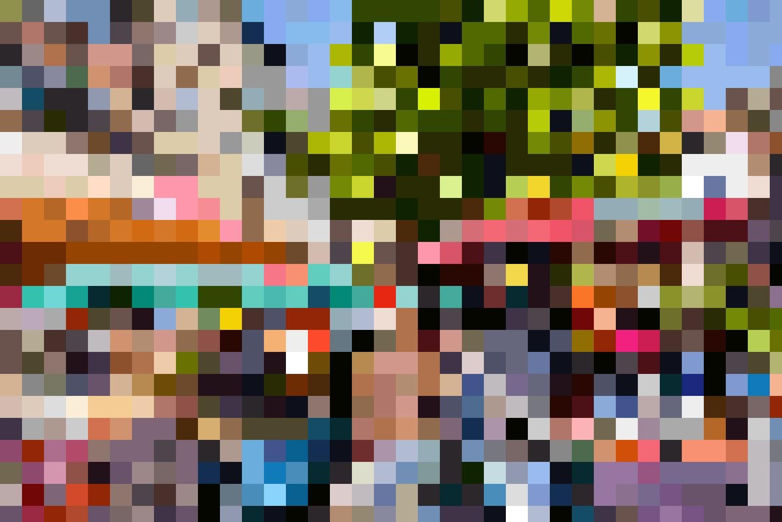 Auf dem Wochenmarkt auf der Place du Châtelain trifft man auf ein farbenfrohes Durcheinander.