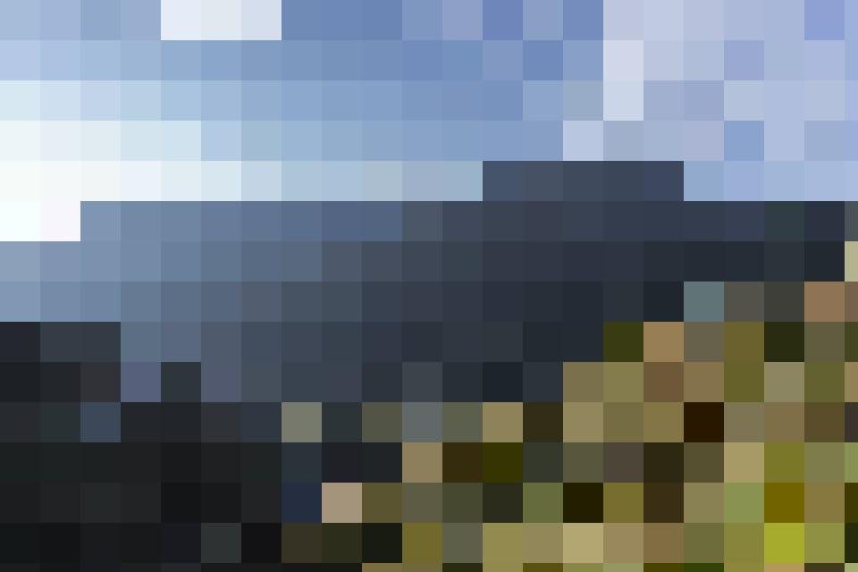 Mal schroff, mal malerisch: Die Gegend um die Rheinquelle bietet ein spektakuläres Panorama.